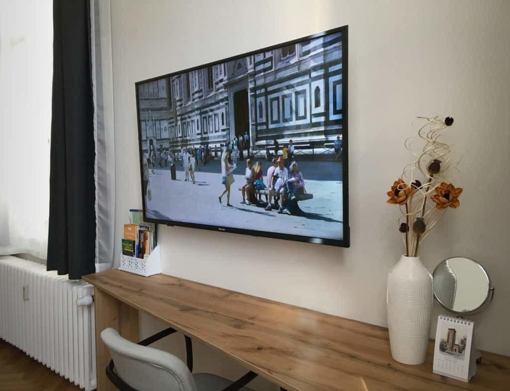 Marienbad Apartment Mariánské Lázně televize detail