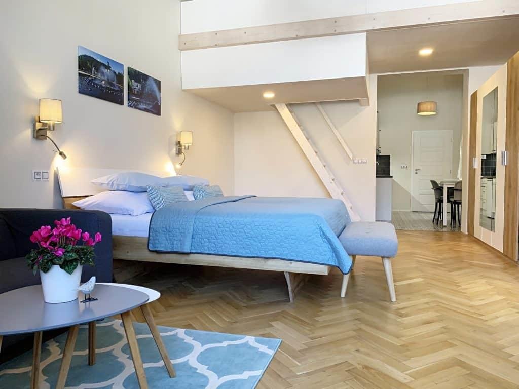 Marienbad Apartment Mariánské Lázně obývací pokoj