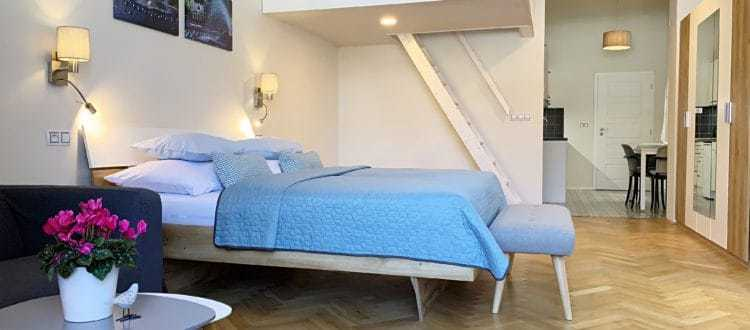 Marienbad Apartment Mariánské Lázně Wohnzimmer Ansicht