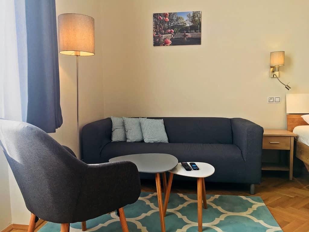 Marienbad Apartment Mariánské Lázně pohovka