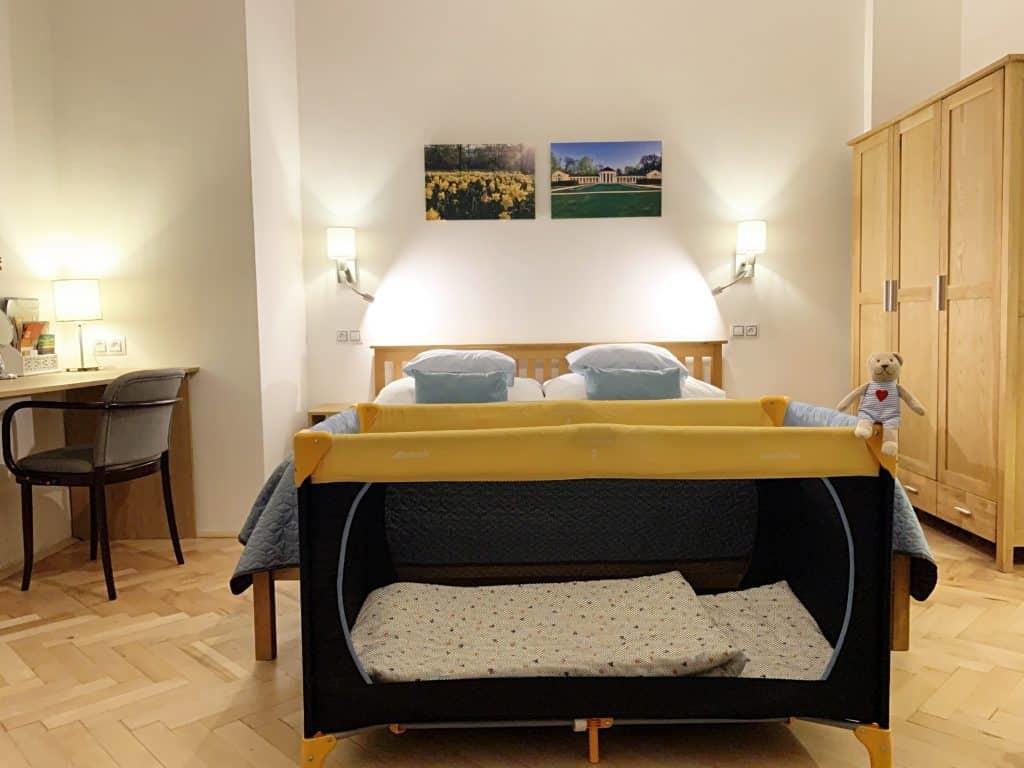 Marienbad Apartment Marianske Lazne detail detske postylky