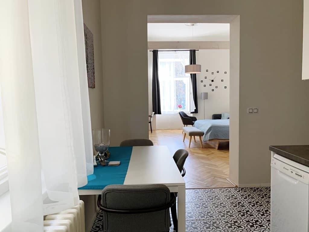Marienbad Apartment Mariánské Lázne Park view kitchen detail