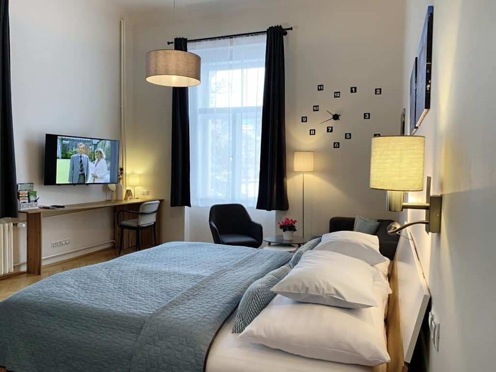 Marienbad Apartment Mariánské Lázne Park view room overview