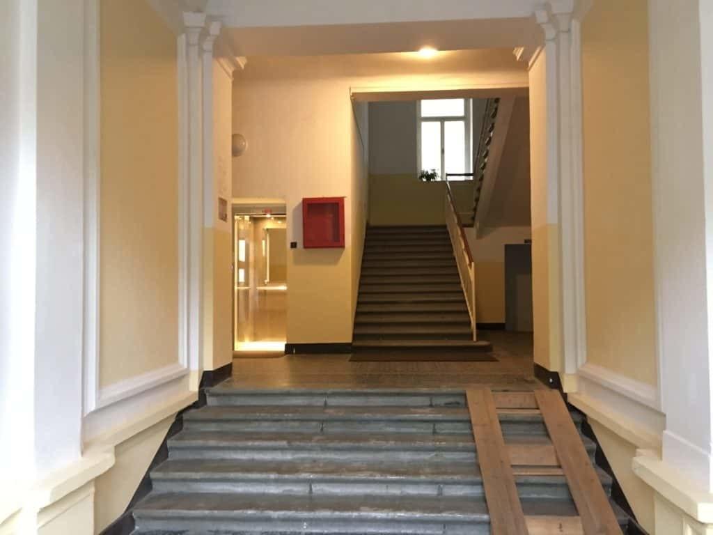 Marienbad Apartment vchod Villa Nizza