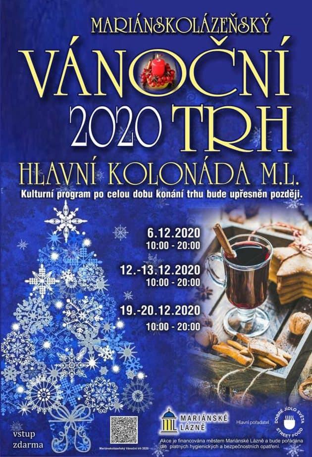 Vánoční trhy Mariánské Lázně 2020