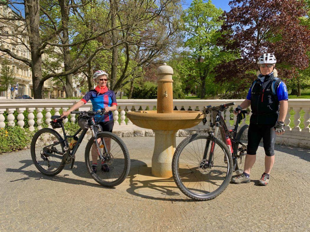 Mariánské Lázně cyklistika