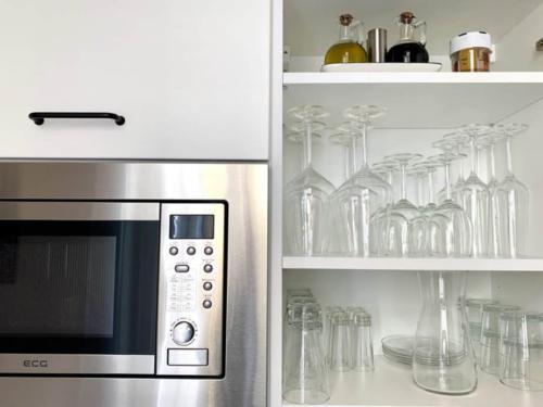 Marienbad Apartment vybaveni kuchyně