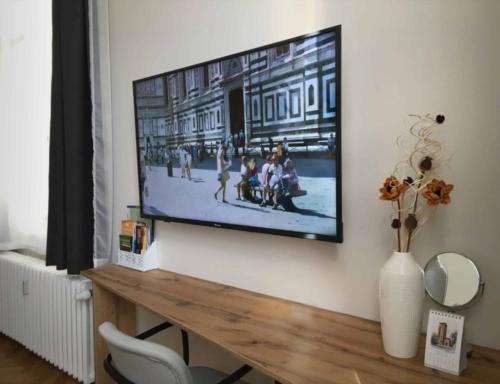 Marienbad Apartment Mariánské Lázne Park view TV