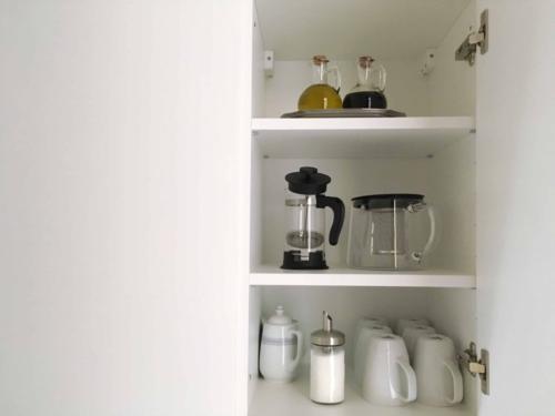Marienbad Apartment Mariánské Lázně nádobí v kuchyni